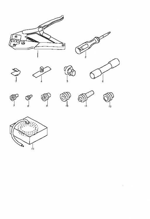 vag connectors pins  u0026 sockets