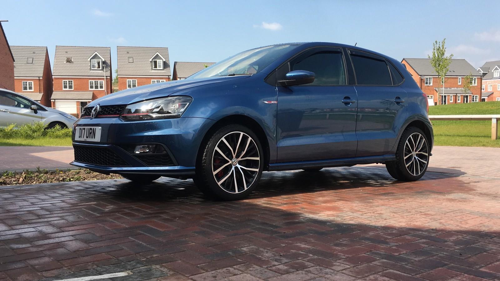 My GTI in Blue!