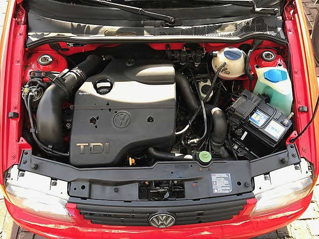 the One and only 6N open air 1.9 tdi 154 hp