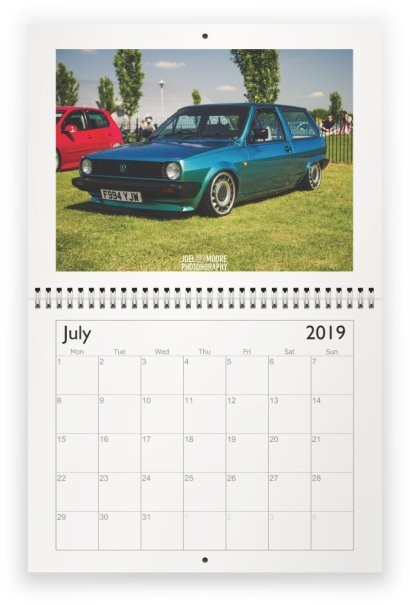 Post in 2019 Calendar Entries